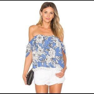 LOVERS + FRIENDS Life's A Beach floral top
